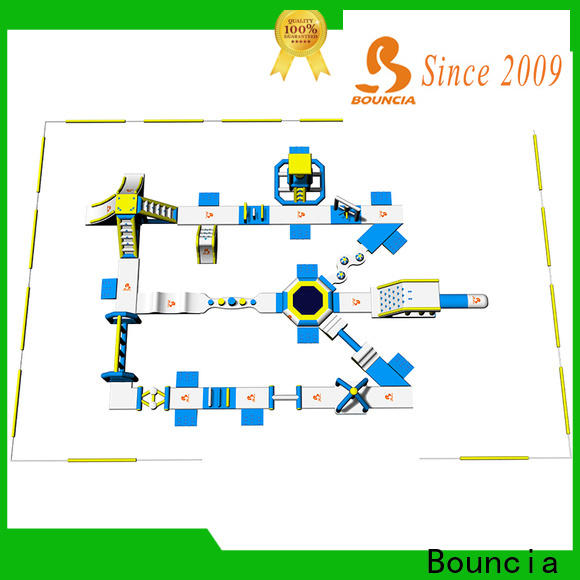 Bouncia Custom inflatable water park price manufacturers for lake
