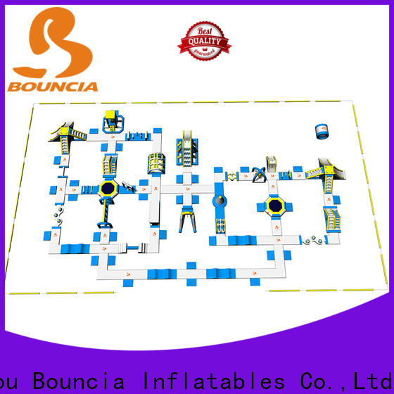 Bouncia High-quality lake float trampoline customized for lake