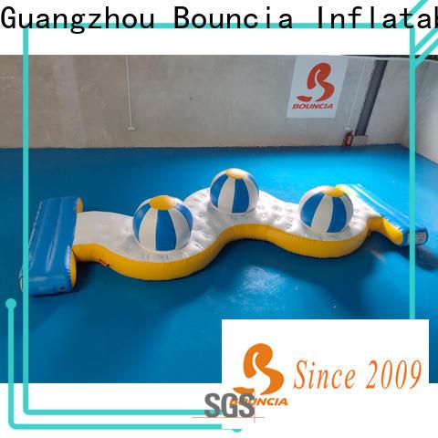 Bouncia tarpaulin buy inflatable water park factory for pool