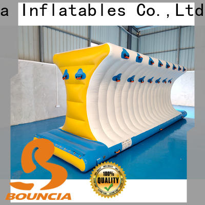 Bouncia course lake inflatables from China for outdoors