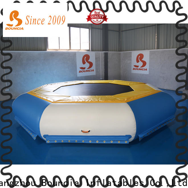 Bouncia durable floating inflatable obstacle course Suppliers for kids