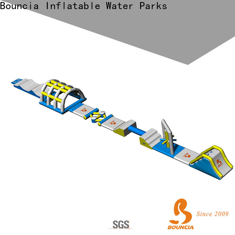 Bouncia obstacle inflatable water park for adults manufacturers for kids