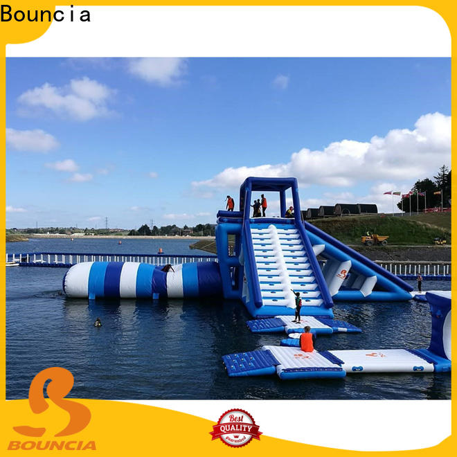 Custom inflatable waterparks beam from China for adults
