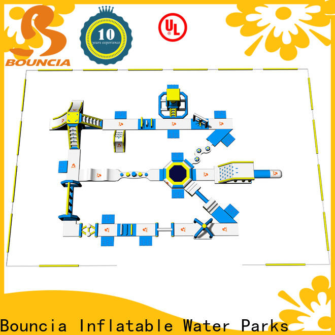 Bouncia New inflatable floating water park for business for outdoors