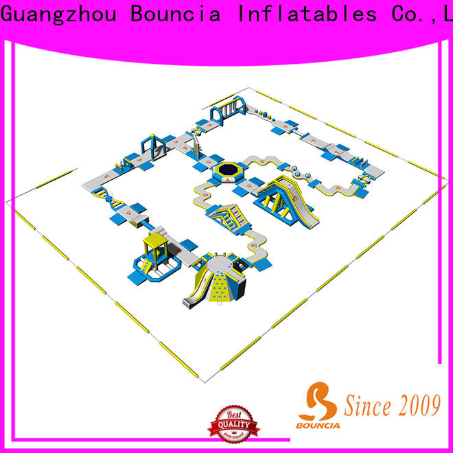 Bouncia bouncia outdoor inflatable park for business for lake