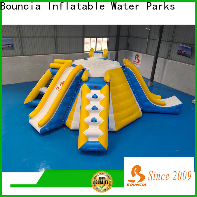 Bouncia stable blow up water slides for sale for business for pool
