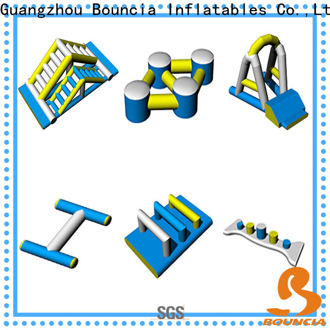 Bouncia 100 people inflatable amusement park Suppliers for lake