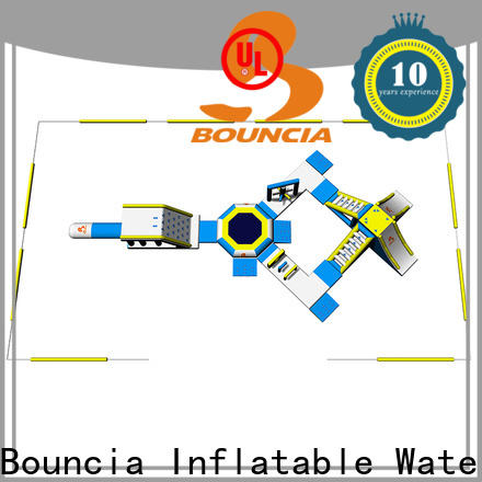 Bouncia aquapark inflatable swimming pool slides for inground pools personalized for kids