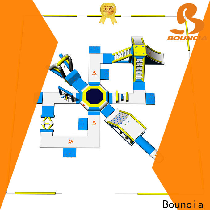 Bouncia outdoor inflatable water park Suppliers for kids