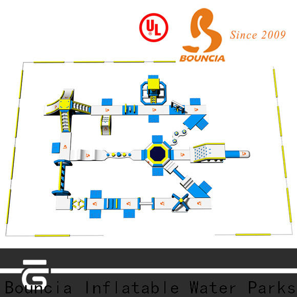 Bouncia fun trampoline water park factory for kids