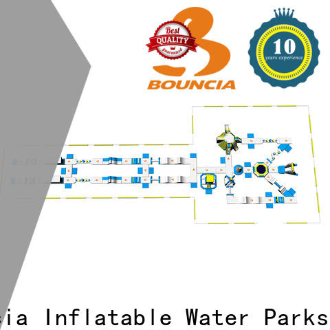 Bouncia adults small inflatable water slides for sale manufacturer for lake