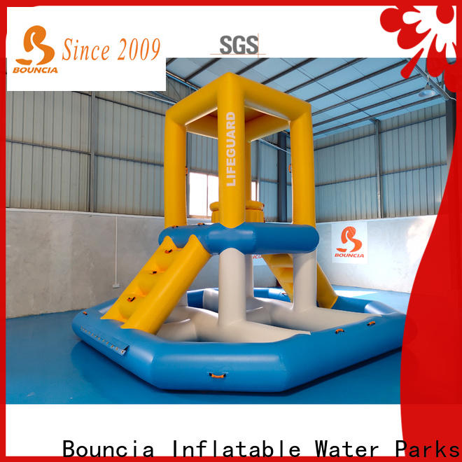 Bouncia Custom aquapark Suppliers for pool