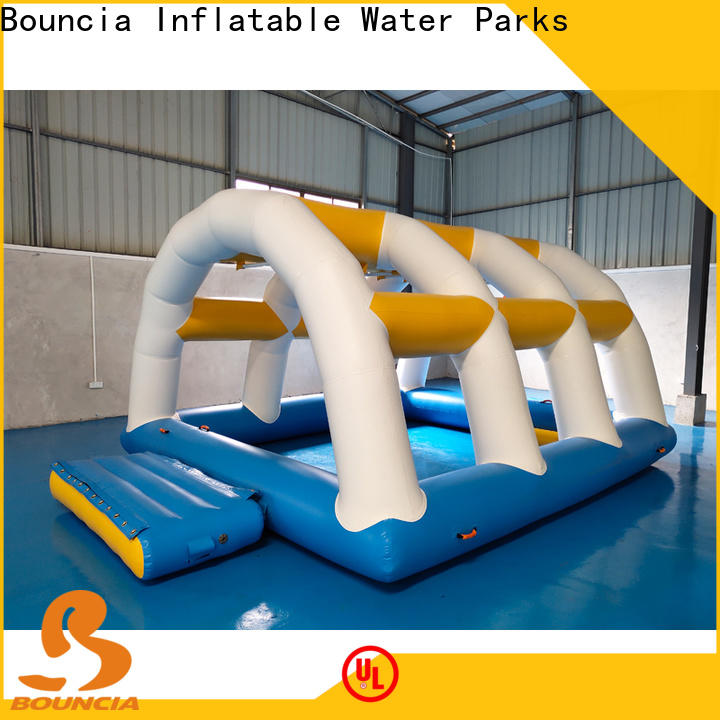 Latest water obstacle course park trampoline for adults