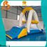 Bouncia climbing inflatable water park customized for pool