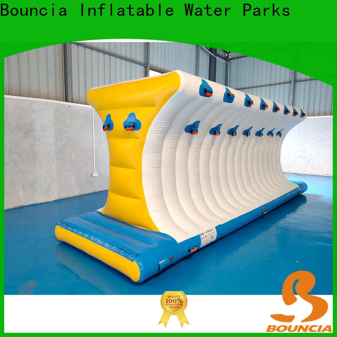 Bouncia blob floating inflatable obstacle course manufacturers for kids