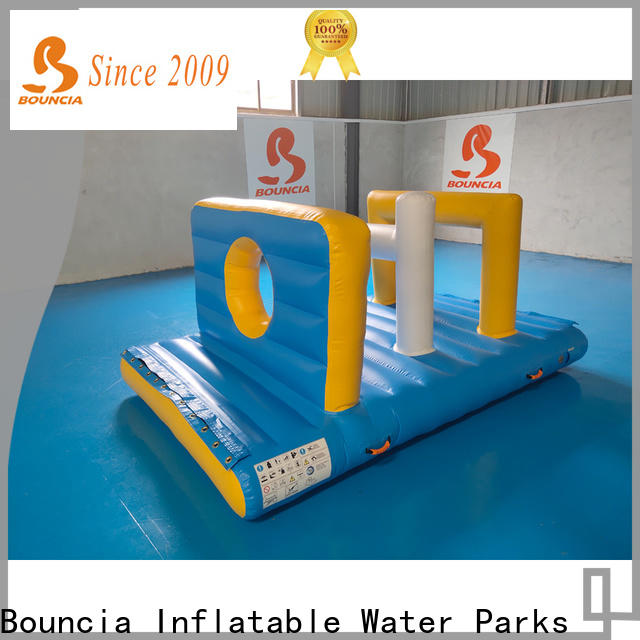 Bouncia tarpaulin inflatable floating water park for sale for business for pool