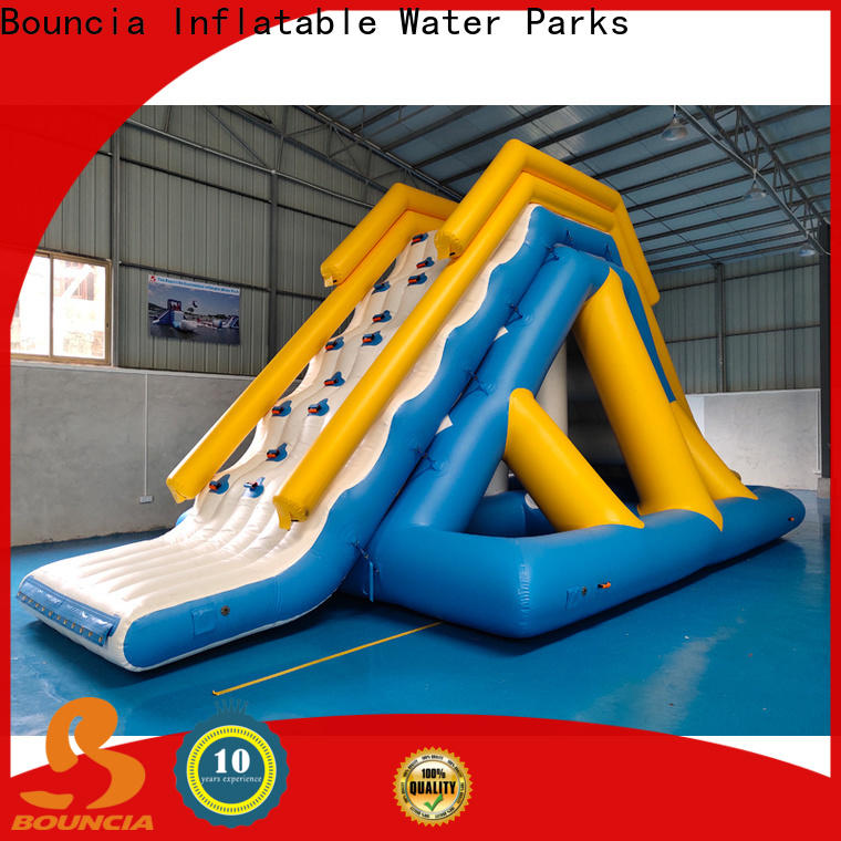 Bouncia stable water park playground company for pool