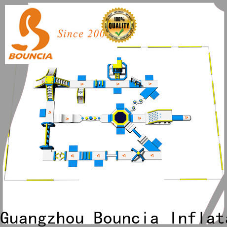 Bouncia 100 people water park for sale factory for adults