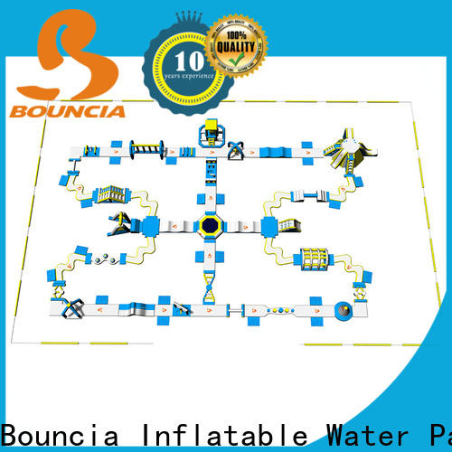 Bouncia Wholesale the inflatable water park Supply for kids