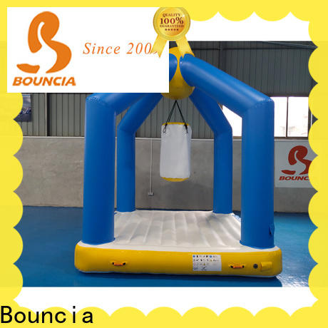 Bouncia ramp inflatable water activities manufacturer for outdoors