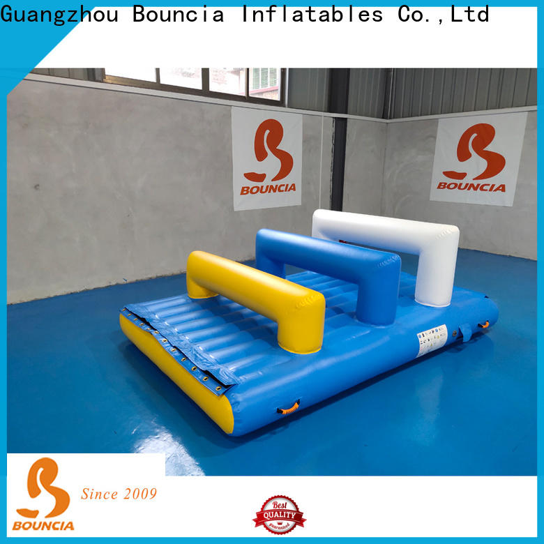 certificated inflatable course one station Supply for outdoors