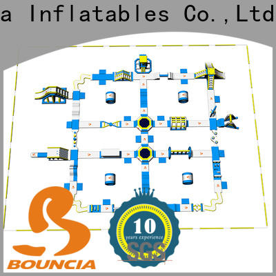 Bouncia Top big inflatable water park manufacturer for lake