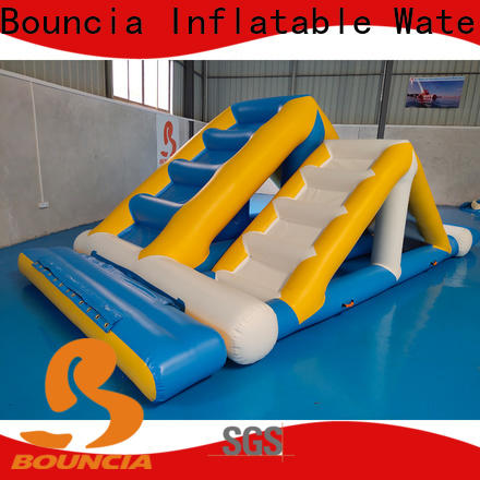 durable inflatable water world trampoline manufacturers for pool