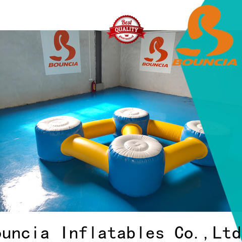 Bouncia pvc inflatable water slide park customized for adults