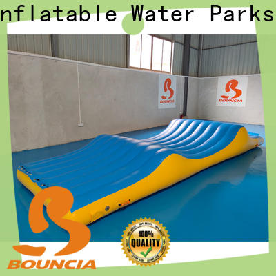 stable inflatable floating water slide jumping platform company for adults