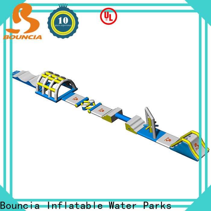 Bouncia stable kids inflatable water park manufacturers for outdoors
