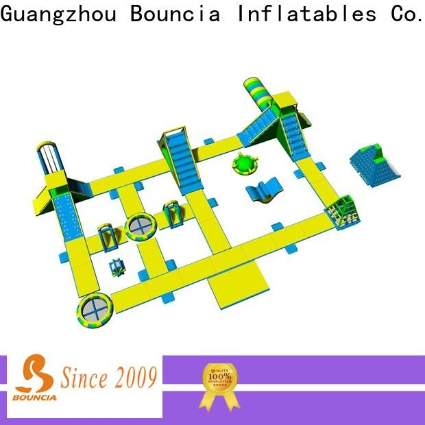 Bouncia tarpaulin big inflatable water slides for adults customized for kids