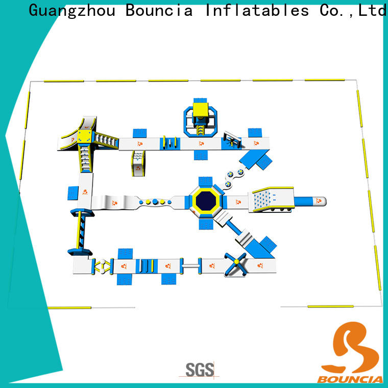 Bouncia splash inflatable water park equipment Suppliers for outdoors
