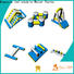 Bouncia splash floating inflatable obstacle course company for kids