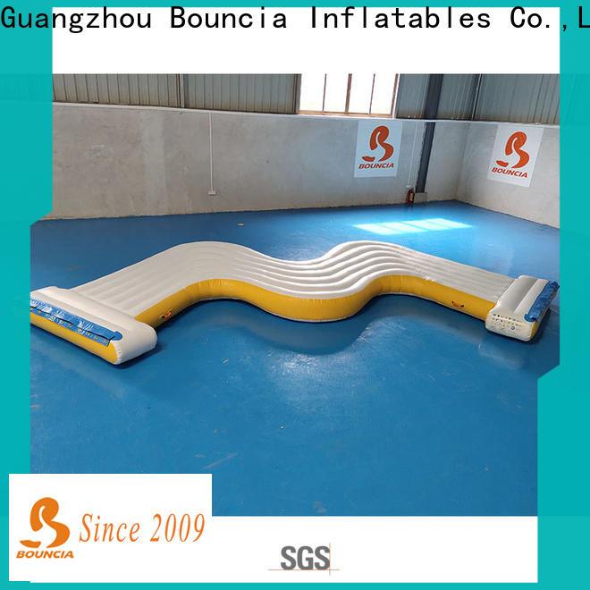 Custom inflatable splash park games company for kids