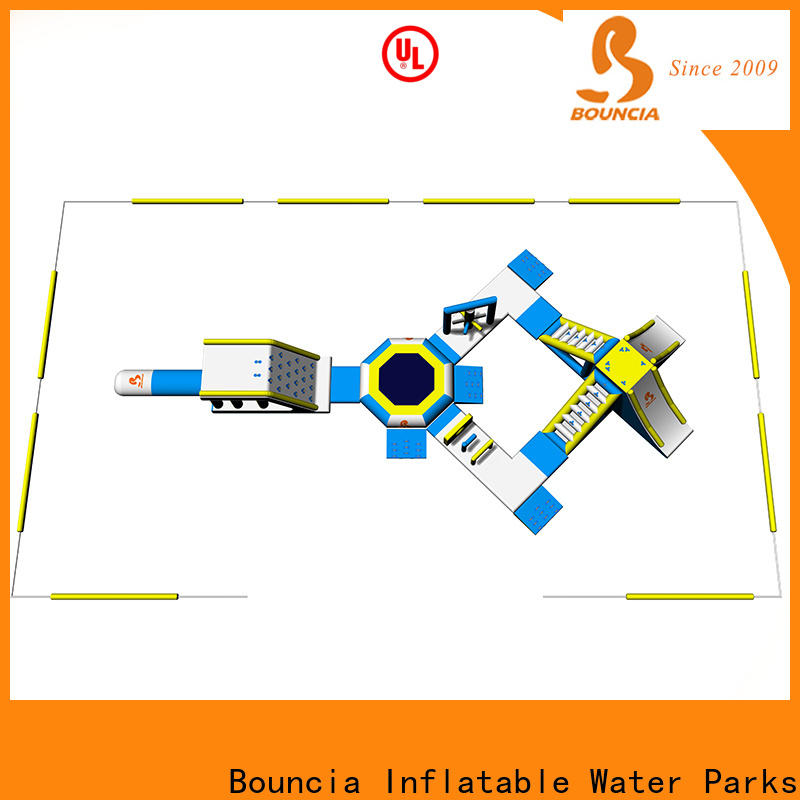 Bouncia people pool side slide Suppliers for outdoors