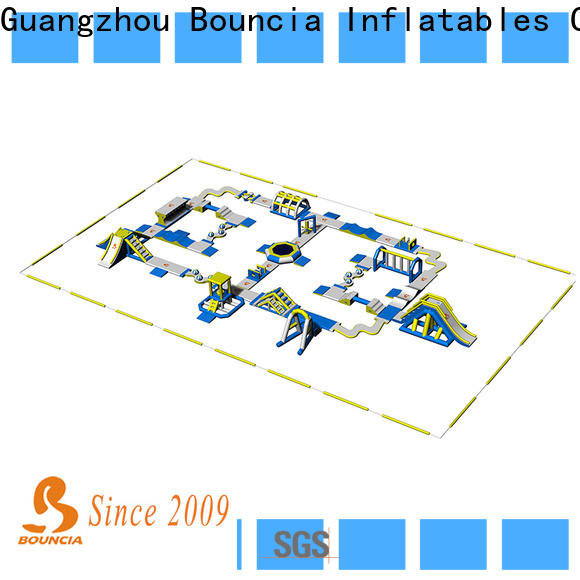 Bouncia commercial inflatable water park price company for lake