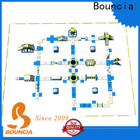 Bouncia Latest at home inflatable water slides customized for outdoors