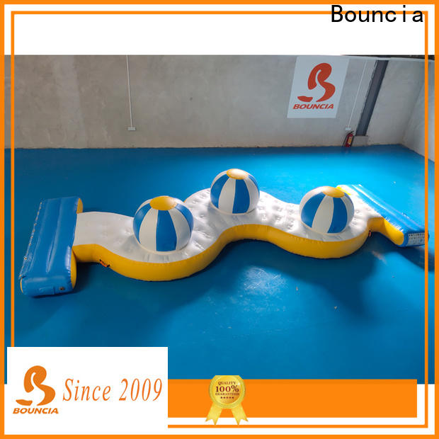 Bouncia stable inside water park factory for kids