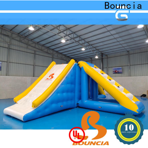 Bouncia floating inflatable water park games Supply for pool