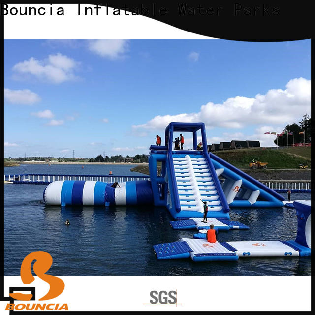 Bouncia climbing water park for sale manufacturer for adults