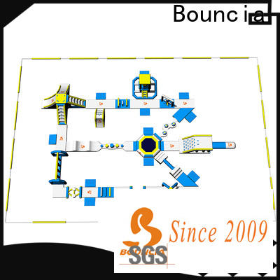 Latest inflatable water park factory bouncia for business for lake
