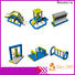 Bouncia 100 people inflatable water slide prices factory price for lake