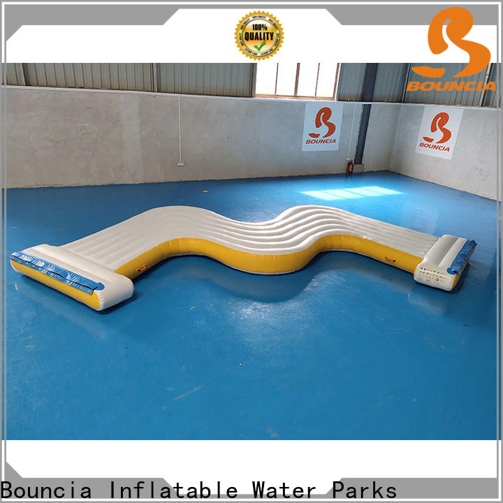 Bouncia guard tower inflatable slip and slide for kids