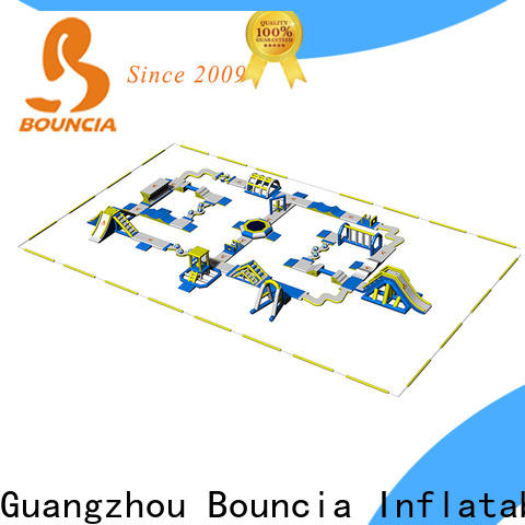 Bouncia New inflatable water park for sale Supply for lake