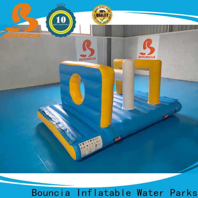 Bouncia floating commercial grade inflatable water park for business for pool