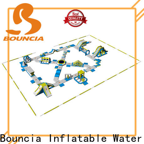 Bouncia Custom outdoor inflatable park for business for adults