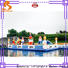 New giant inflatable water obstacle course factory for student