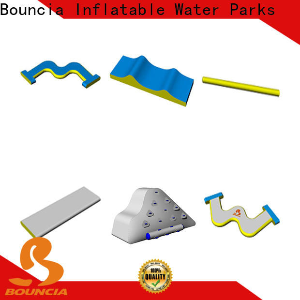 Bouncia floating inflatable water slide for adults