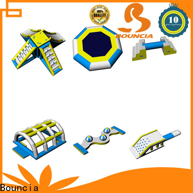 Bouncia Latest inflatable water park manufacturers for kids