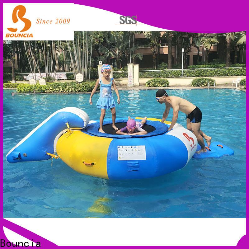Bouncia pvc commercial inflatable water slides manufacturers for kids
